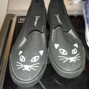 Size 11/13 Cat Slip-ons